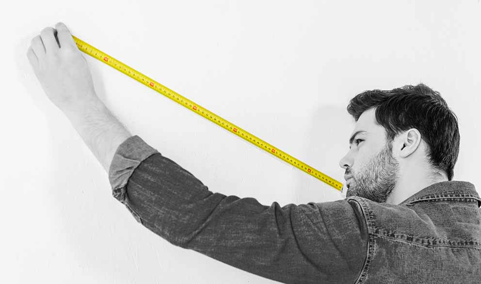 Digital Specialist with Measuring tape